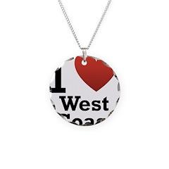 I Love West Coast Necklace