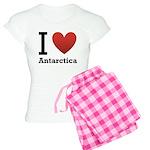 I Love Antarctica Women's Light Pajamas