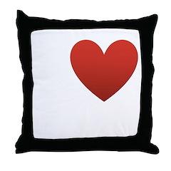 I Love Columbus Throw Pillow