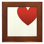I Love Austin Framed Tile