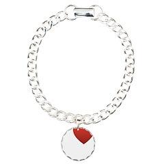 I Love My Family Charm Bracelet, One Charm