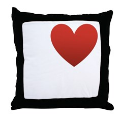 I Love Golf Throw Pillow