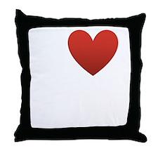 I Love to Swim Throw Pillow