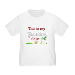 My Vacation Shirt Male T