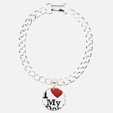I Love My Dog Bracelet