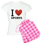 I Love Sports Women's Light Pajamas