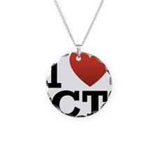 I Love CT Necklace