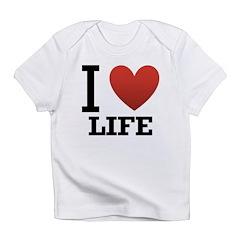 I Love Life Infant T-Shirt