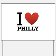 I Love Philly Yard Sign
