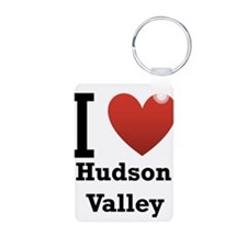 I Love Hudson Valley Keychains