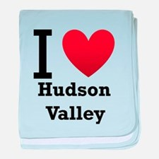 I Love Hudson Valley baby blanket