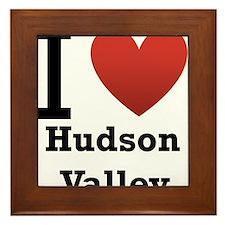 I Love Hudson Valley Framed Tile
