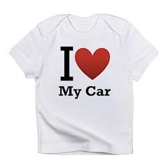 I <3 My Car Infant T-Shirt