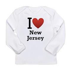 I <3 New Jersey Long Sleeve Infant T-Shirt