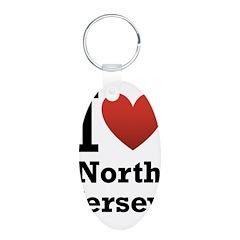 I <3 North Jersey Keychains