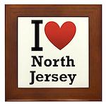 I <3 North Jersey Framed Tile