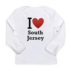 I <3 South Jersey Long Sleeve Infant T-Shirt