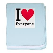I Love Everyone baby blanket