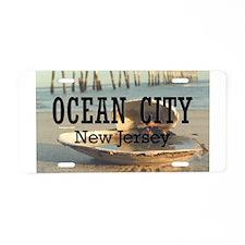 I <3 Ocean City Aluminum License Plate