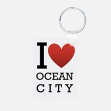 I <3 Ocean City Keychains