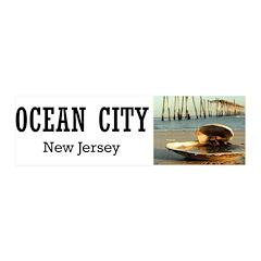 I <3 Ocean City 21x7 Wall Peel