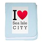 Sea Isle City baby blanket