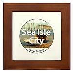 Sea Isle City Framed Tile