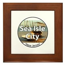 Sea Isle City Framed Tile