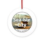 Sea Isle City Ornament (Round)