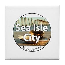 Sea Isle City Tile Coaster