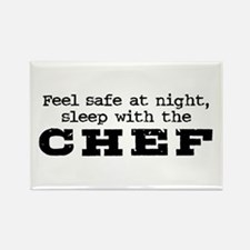 Funny Chef Rectangle Magnet