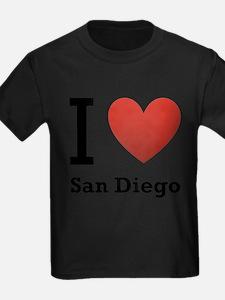 I Love San Diego T