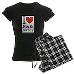 I <3 North Jersey Women's Dark Pajamas