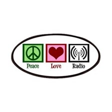 Peace Love Radio Patches