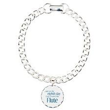 Flute Creation Charm Bracelet, One Charm