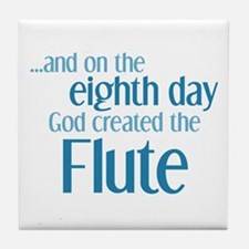 Flute Creation Tile Coaster