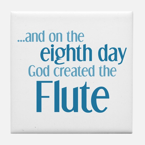 Flute Creation Tile Coaster