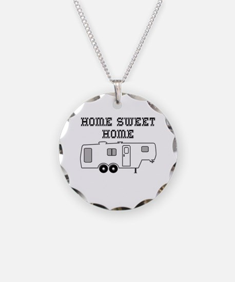 Home Sweet Home Fifth Wheel Necklace