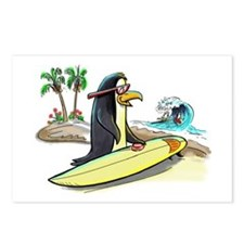 PeNgUiN SuFeRs Postcards (Package of 8)