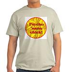 Psycho 'nana Chick Ash Grey T-Shirt