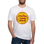Psycho 'nana Chick Fitted T-Shirt