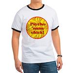 Psycho 'nana Chick Ringer T