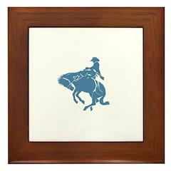 Vaquero Framed Tile
