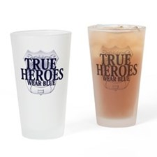 Police: True Heroes Drinking Glass