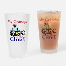My Grandpa is the Chief Drinking Glass
