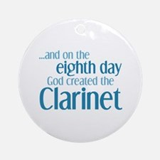 Clarinet Creation Ornament (Round)