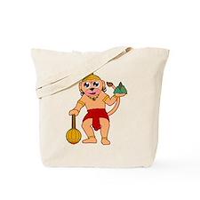 Funny Krishna Tote Bag