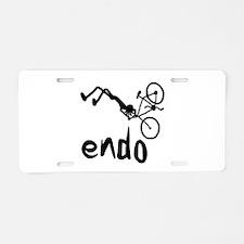 Endo Aluminum License Plate