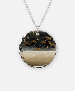 Cute Fly fishing Necklace