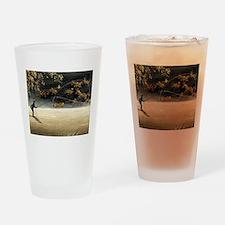 Unique Fish art Drinking Glass